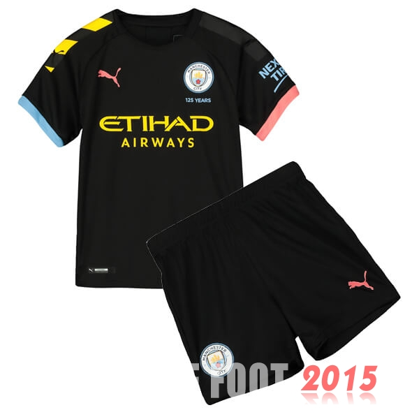 Maillot De Foot Manchester City Enfant 19/20 Exterieur Un ensemble