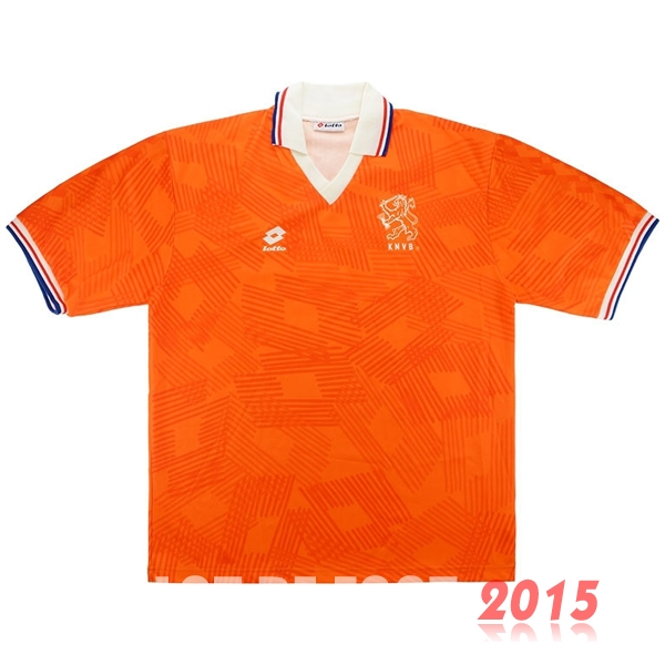 Maillot De Foot Hollande 1991/1992 Retro Domicile