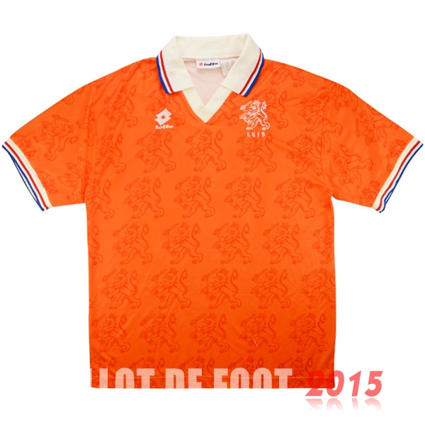 Maillot De Foot Hollande 1995 Retro Domicile