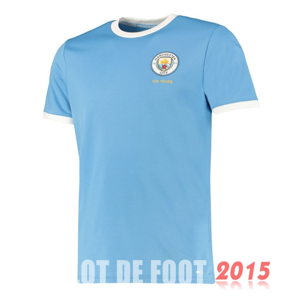 Maillot De Foot Manchester City 125th Bleu Clair