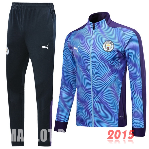 Survêtements Manchester City Purpura Bleu 19/20