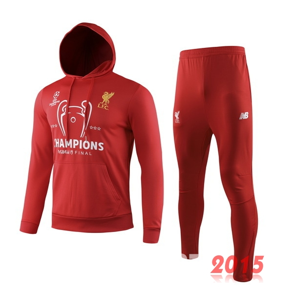 Survêtements Liverpool Rouge Jaune 19/20