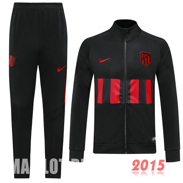 Survêtements Atletico Madrid Noir Rouge 19/20