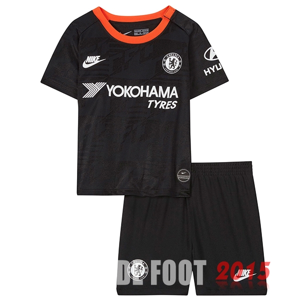 Maillot De Foot Chelsea Enfant 19/20 Third Un ensemble