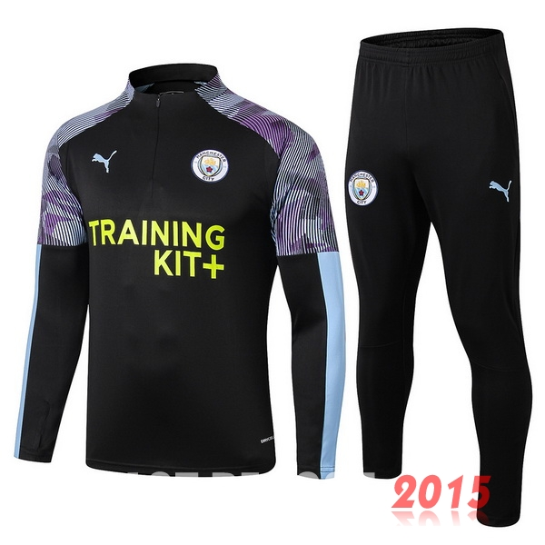 Survêtements Manchester City Purpura Noir 19/20