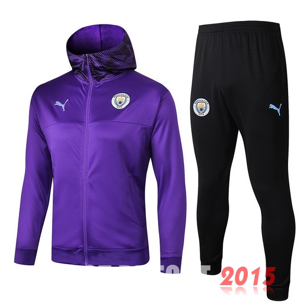 Survêtements Manchester City Purpura Noir1 19/20