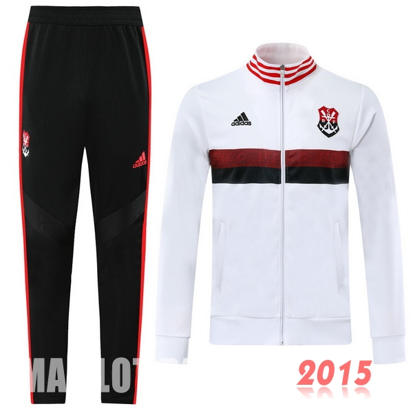 Survêtements Flamengo Blanc Rouge 19/20