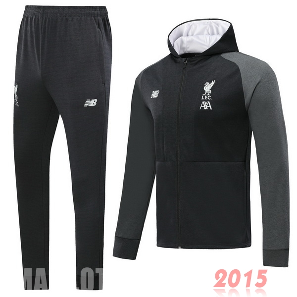 Survêtements Liverpool Blanc Gris 19/20
