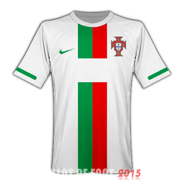 Maillot De Foot Portugal 2010 Retro Exterieur