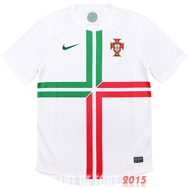 Maillot De Foot Portugal 2012 Retro Exterieur