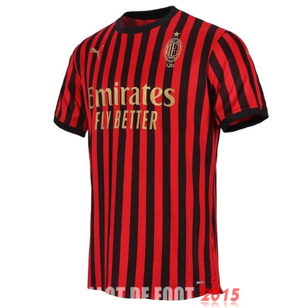 Maillot De Foot AC Milan 120th Rouge