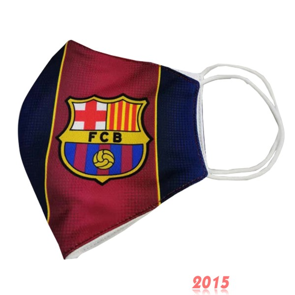 Masque Football Barcelona serviette Rouge
