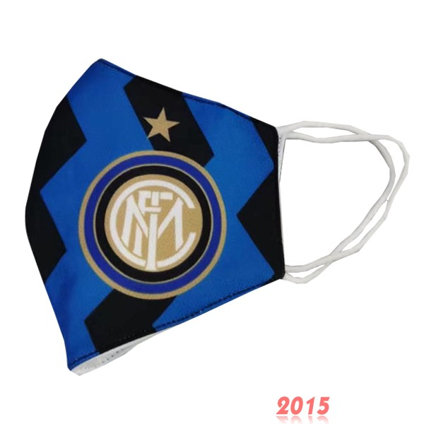 Masque Football Inter Milan serviette Bleu