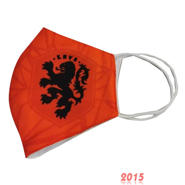 Masque Football Pays Bas serviette Orange