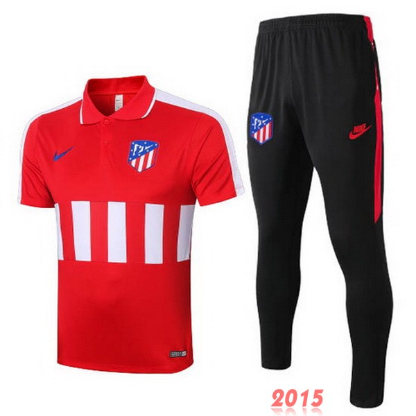 Ensemble Polo Atletico Madrid Rouge Noir 20/21