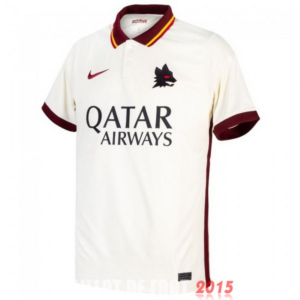 Maillot De Foot As Roma 20/21 Exterieur