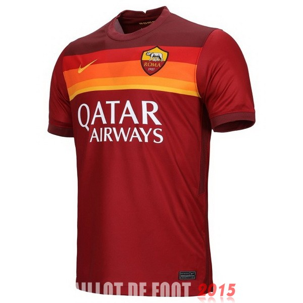 Thailande Maillot De Foot As Roma 20/21 Domicile