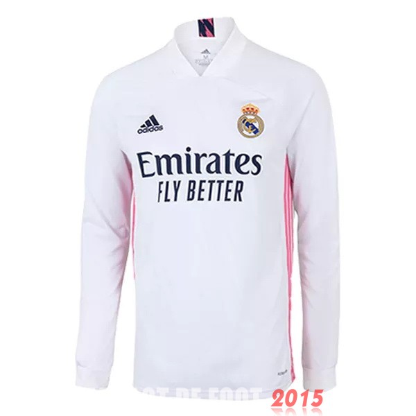 Maillot De Foot Real Madrid Manches Longues 20/21 Domicile