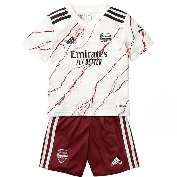 Maillot De Foot Arsenal Enfant 20/21 Exterieur Un ensemble