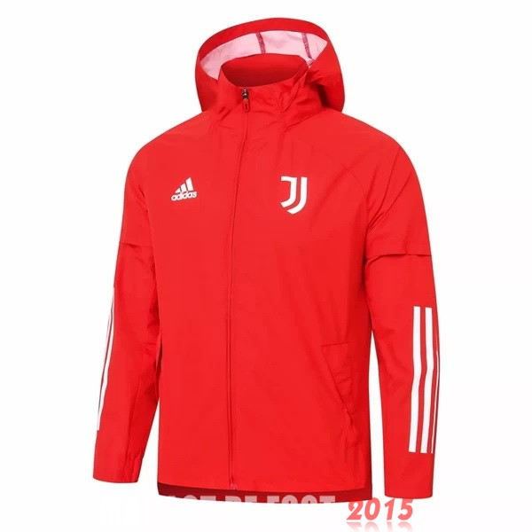 Coupe Vent Juventus Rouge Blanc 20/21