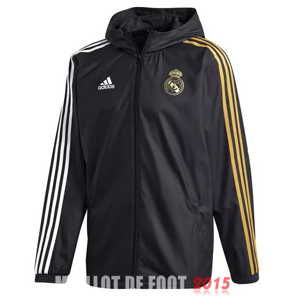 Coupe Vent Real Madrid Noir Jaune 20/21