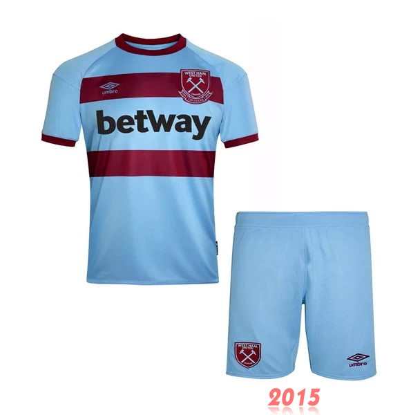 Maillot De Foot West Ham United Enfant 20/21 Exterieur Un ensemble