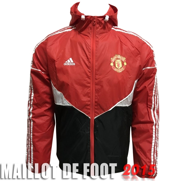 Sudaderas Con Capucha Manchester United Rouge Noir Blanc 17/18