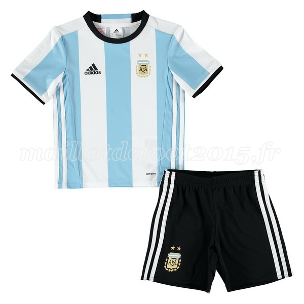 maillot de foot argentine enfant mondiall 2016 domicile. Black Bedroom Furniture Sets. Home Design Ideas