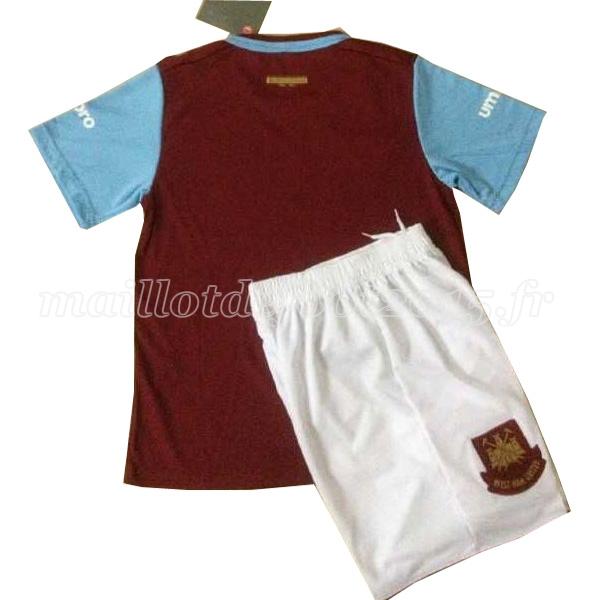 maillot de foot west ham united enfant 15 16 domicile pas cher. Black Bedroom Furniture Sets. Home Design Ideas